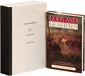 [Printed manuscript]: Gods and Generals