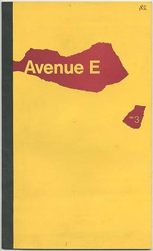 Magazine]: Avenue E # 3: CEE, Steve, editor.