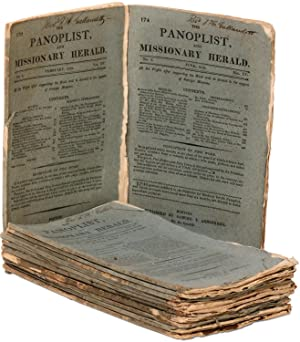 The Panoplist, and Missionary Herald (12 monthly issues, January-December, 1819): GALLAUDET, Thomas...