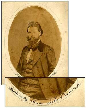 Photographic portrait of John Brown, Jr.