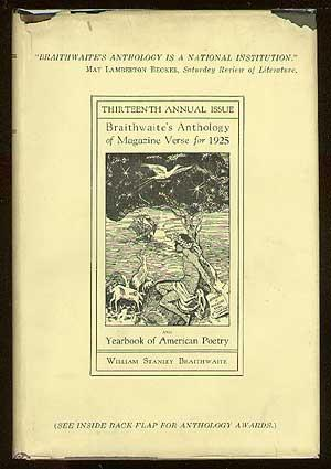 Anthology of Magazine Verse for 1925 and Yearbook of American Poetry