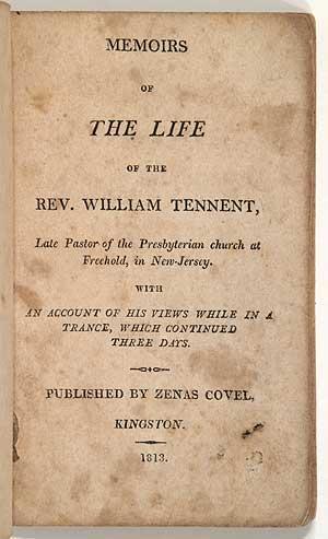 Memoirs of the Life of Rev. William: BOUDINOT, Elias]