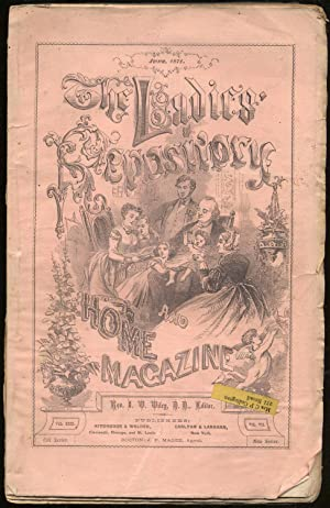 The Ladies Repository: A Monthly Periodical: June: WILEY, I.V. (editor)