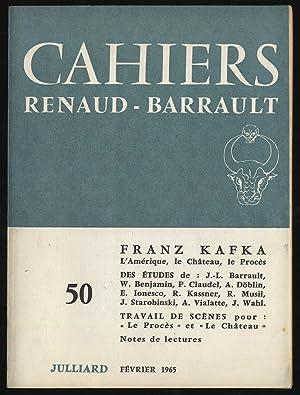 CAHNERS RENAUD - BARRAULT Franz Kafka 50