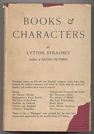 Books and Characters: French and English: STRACHEY, Lytton