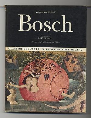 L'opera completa di Bosch: BUZZATI, Dino and