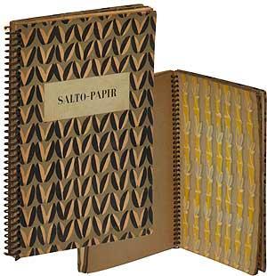 Salto-Papir: Dekoreret Papir Til Omslag, Forsats, Tapeter,: SALTO, Axel
