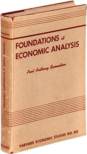 Foundations of Economic Analysis