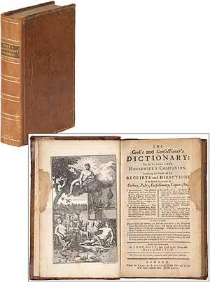 The Cook's and Confectioner's Dictionary: Or, the: NOTT, John