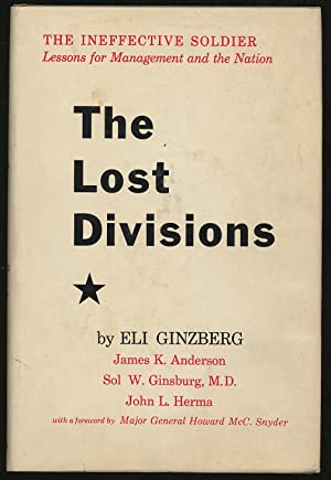 The Lost Divisions Volume I of The: GINZBERG, Eli et