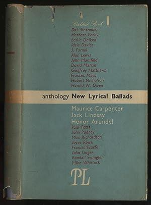 New Lyrical Ballads Anthology: CARPENTER, Maurice et