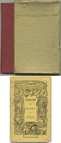 Sailor Stories and Songs [cover title]: Sailor Boy and Songs: CARDELL, William S.]