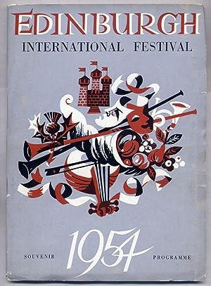 Edinburgh International Festival of Music and Drama 1954 Souvenir Programme
