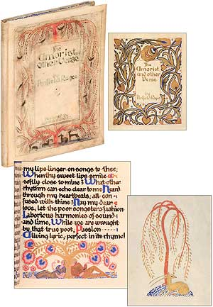 [Hand Illuminated Manuscript]: The Amorist and Other Verse