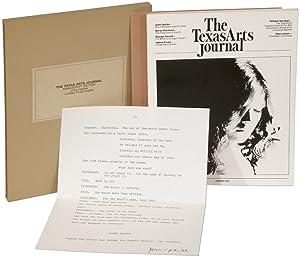 The Texas Arts Journal: Manuscript Edition: UPDIKE, John