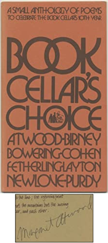 Book Cellar's Choice: A Small Anthology of Poems to Celebrate the Book Cellar's 10th Year