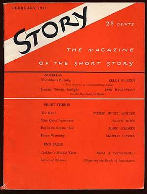 Story: The Magazine of the Short Story, February 1937