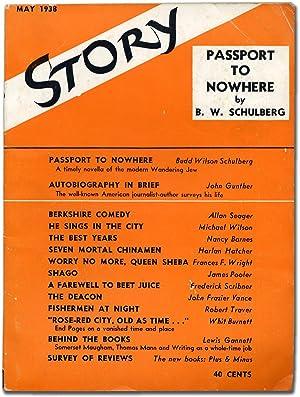 Story: The Magazine of the Short Story,: SCHULBERG, Budd, John
