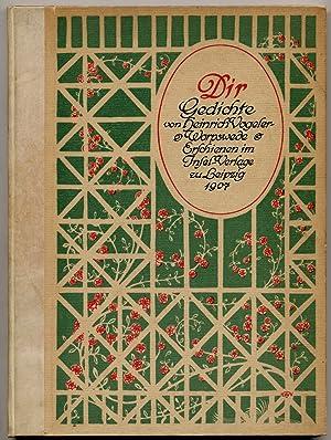 Dir Gedichte von Heinrich Vogeler-Worpswede: VOGELER, Heinrich