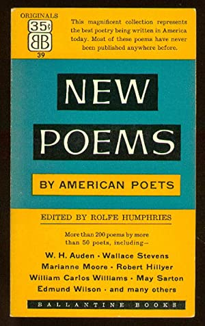 New Poems by American Poets: HUMPHRIES, Rolfe, edited by