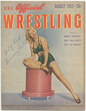 """N.W.A. Official Wrestling. August, 1952: Bouncing Beulah"""" aka Beulah Mae Boshers"""