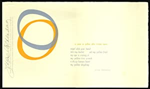 A poem in yellow after tristan tzara
