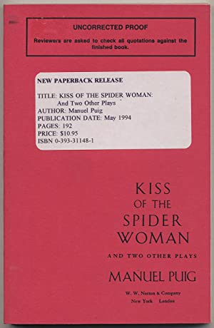 Kiss of the Spider Woman and Two: PUIG, Manuel