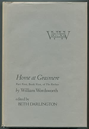 Home at Grasmere: Part First, Book First,: WORDSWORTH, William. Edited