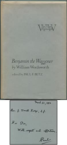 Benjamin the Waggoner: WORDSWORTH, William. Edited