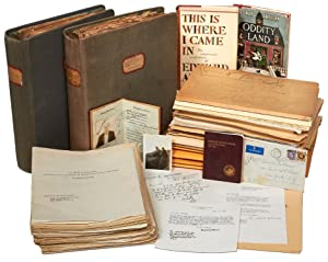 [Archive]: Manuscripts, Letters, and Ephemera from Editor and Writer, Edward Anthony