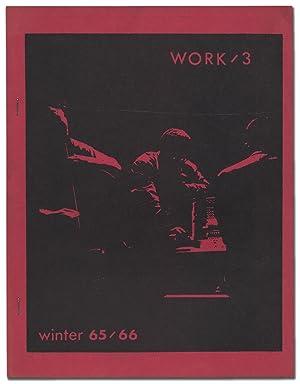 Work/3 -- Winter 65/66: CREELEY, Robert, Jonathan