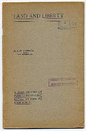 Land and Liberty: A Brief History of: GANDARA, Raul