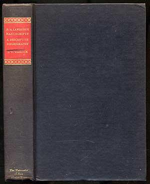 The Frieda Lawrence Collection of D.H. Lawrence: TEDLOCK JR., E.W.
