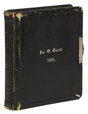 1891 Skull & Bones Yearbook