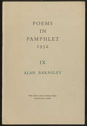 Poems in Pamphlet 1952 IX: The Frog Prince and Other Poems