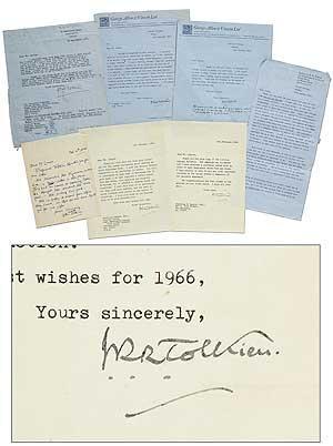 Archive of Correspondence: TOLKIEN, J.R.R.