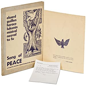 Song of Peace. Based on poems by Paul Eluard, Nicolas Guillen, Horace, M. Lukenin, Gabriela Mistr...