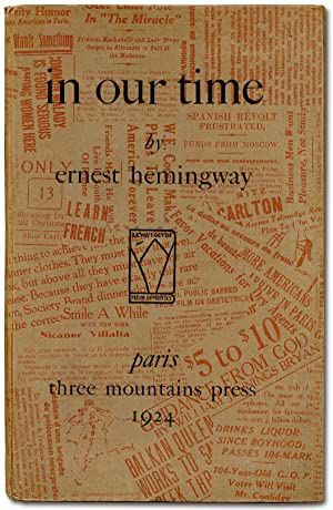 in our time: HEMINGWAY, Ernest