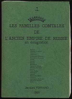 Les Familles Comtales De L'Ancien Empire De