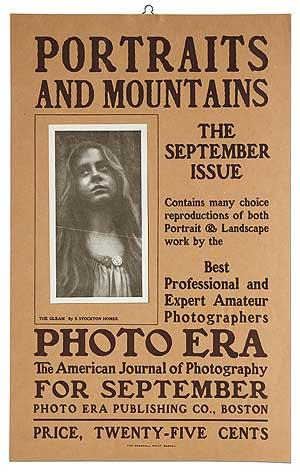 [Broadside]: Portraits and Mountains. The September Issue. Photo Era: The American Journal of Pho...