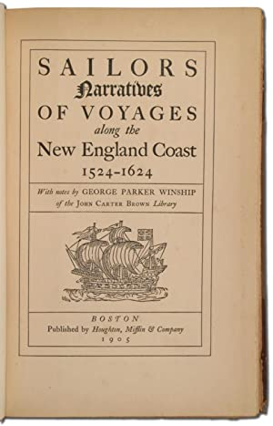 Sailors Narratives of Voyages along the New England Coast 1524-1624: WINSHIP, George Parker