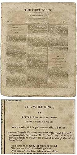 The Wolf King; or Little Red Riding: DENNIE, Joseph, as