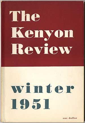 The Kenyon Review - Winter 1951 (Volume: LOWELL, Robert, Arnold