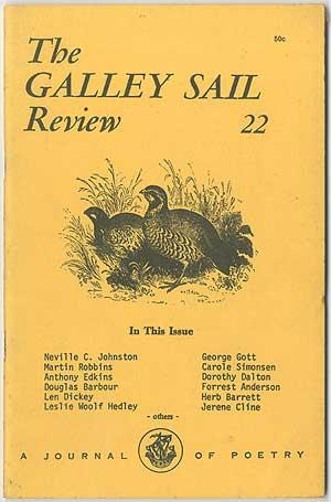 The Galley sail Review - 1970 (Volume: Margaret Secrist, Neville