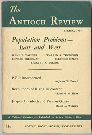 The Antioch Review - Spring 1957 (Volume 17, Number 1)