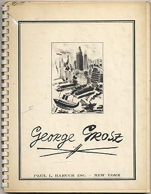 George Grosz: 30 Drawings and Watercolors: GROSZ, George