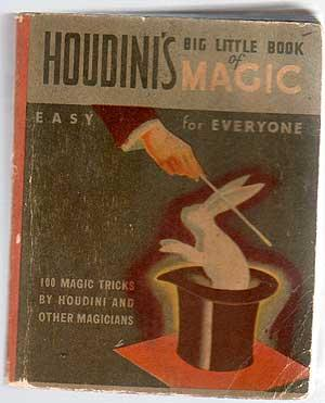 Book of Magic: Fascinating Puzzles, Trick and: Houdini (Selected by)