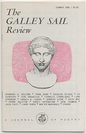 The Galley Sail Review - Summer 1986: GUNN, Thom, Douglas