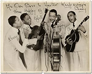 Inscribed Photograph of the Ink Spots