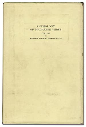 Anthology of Magazine Verse for 1918 and Year Book of American Poetry